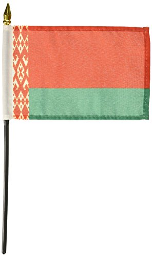 Us Flag Store Belarus Flag, 4 by 6-Inch