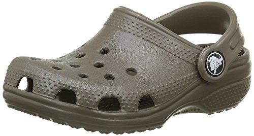 crocs Kid's Classic Clog 10006,Chocolate,C8C9 Toddler