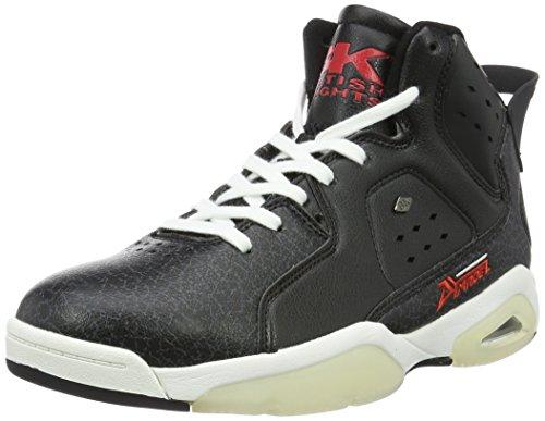 black Uomo 07 Sneaker Nero British Alte Knights red Mavik cUYqgw1F