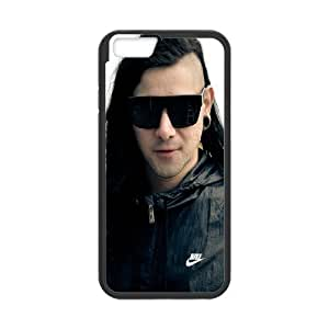 Diy Phone Cover Skrillex for iPhone 6,6S 4.7 Inch Send tempered glass screen protector WEQ019822