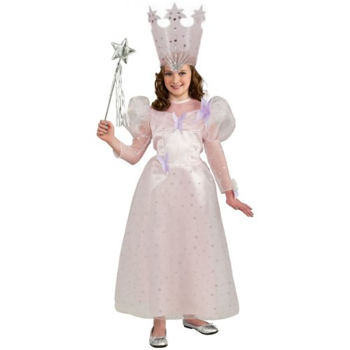 Authentic Tv Show Costumes (Glinda the Good Witch Costume - Large)