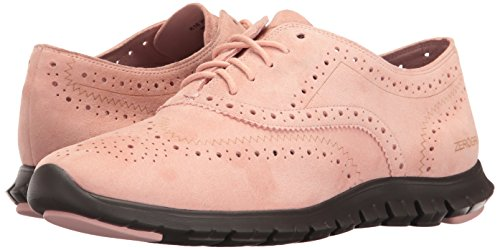 Hole Pink Pavement Haan Open Wing Open Cole Oxford OX Zerogrand Women's Silver Hole PzpwTqH7
