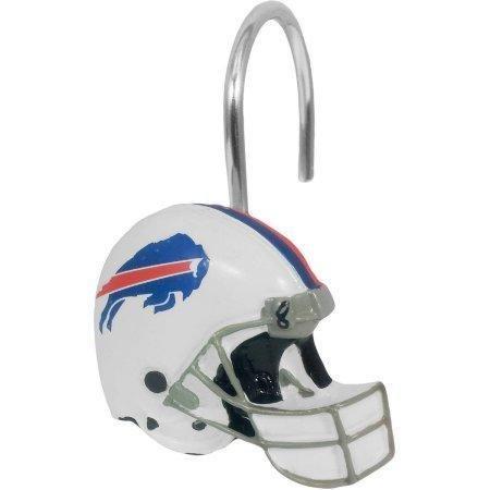 Buffalo Bills Shower Curtain - NFL Buffalo Bills Shower Curtain Hooks 12 Piece Set