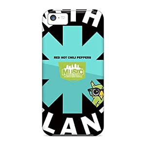 Iphone 5c Kyt2200sUuH Customized Nice Red Hot Chili Peppers Skin Great Hard Phone Cover -JonathanMaedel