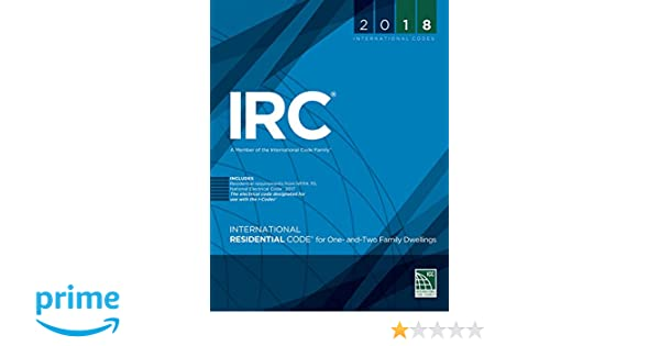 2018 International Residential Code Turbo Tabs, Soft Cover Version: International Code Council: 9781609837167: Amazon.com: Books