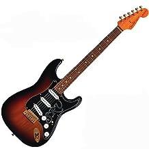 Fender Stevie Ray Vaughan Stratocaster® Electric Guitar, 3 Tone Sunburstpao ferro