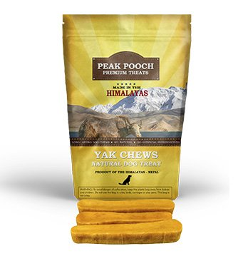 Himalayan Yak Dog Chew, 100% Natural Dog Treats for Small, Medium, and Large Dogs (1/2 lb)