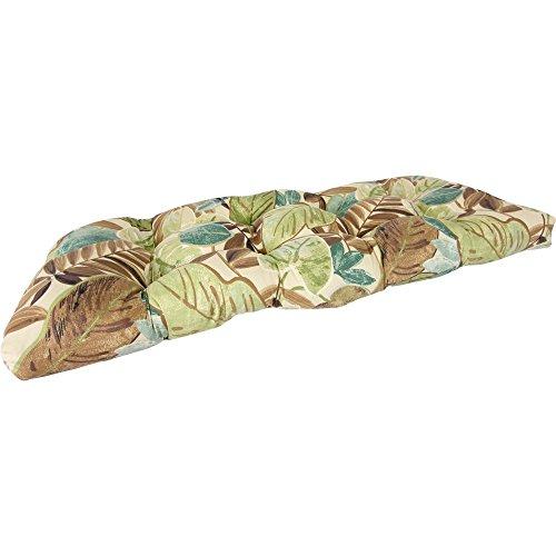 Jordan Manufacturing 44 x 18 Wicker Settee Cushion ()
