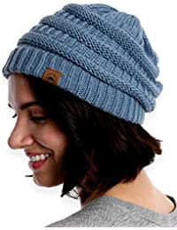8bb2a2ba304 new zealand cable knit beanie thick soft warm chunky beanie hats for women  men db6cc 19f15