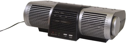 Heaven Fresh HF 210UV Ionic Air Purifier with UV Lamp - Color Silver Black