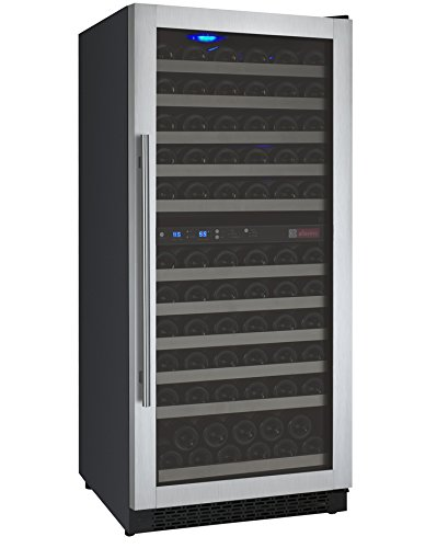 FlexCount Series 121 Bottle Dual Zone Freestanding Wine Refrigerator