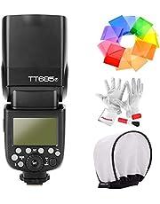 Godox TT685F 2.4G TTL Flash Speedlite per Fujifilm GN60 1 / 8000S HSS 0.1-2.s Tempo di riciclo 230 Lampi a piena potenza 22 Passi di potenza in uscita