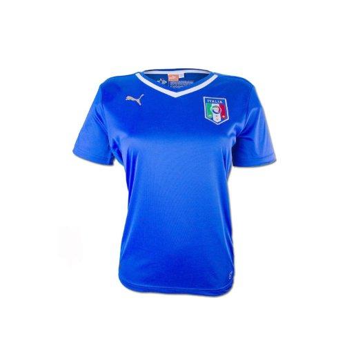 お風呂部分審判Puma Italy Home Womens Jersey World Cup 2014 Blue/サッカーユニフォーム イタリア代表 女子ホーム用 ワールドカップ2014(青)背番号なし