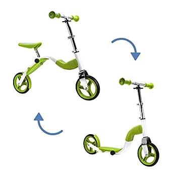 SCOOBIK Verde - Scooter y Bicicleta 2 en 1 - by Bestial Wolf ...