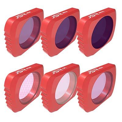 Studyset Optional Camera Lens Filter Kit Set for DJI OSMO Pocket Lens Accessories for DJI OSMO Pocket UV CPL ND4/8/16/32/64 Star Filter 6in1