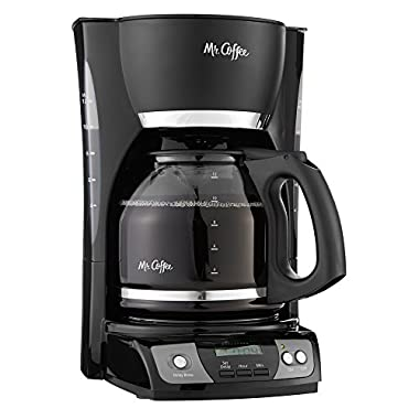 Mr. Coffee CGX23 12-Cup Programmable Coffeemaker, Black