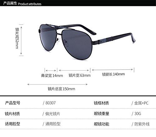 de 2018 alta Estados gafas de sol gafas de Big gafas Unidos polarizadas y los Hombre definición las Europa Face Gafas de de de hombres de Face nuevos gris Negro Caja C1 la Box polarizadas sol sol qHYzBwP