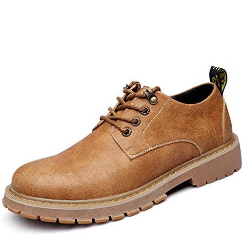 LOVDRAM Stiefel Männer Männer Männer Oxford Männer Schuhe Männer Freizeitschuhe Mode Retro Werkzeug Schuhe Martin Stiefel e0cf16