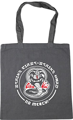 10 Gym HARD KAI COBRA Graphite Grey Tote FIRST x38cm 42cm litres HippoWarehouse Shopping STRIKE STRIKE Beach Bag 8OR5xq