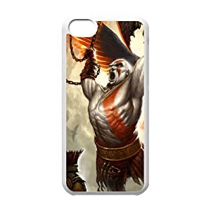 god of war iPhone 5c Cell Phone Case White Delicate gift AVS_644826