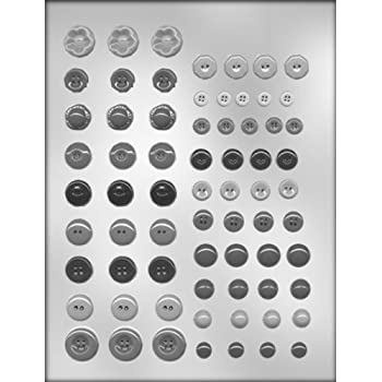 CK Products Button Assortment Chocolate Mold