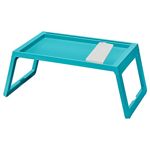 IKEA TV Tray KLIPSK Bed Tray, Turquoise by Klipsk