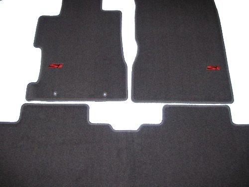 Amazon.com: Genuine OEM Honda Civic Si Sedan Carpet (Graphite Black) Floor  Mats   Set Of 3 2006 2008 2009 2010 2011: Automotive