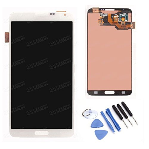High Quality LCD Display Glass Touch Screen Digitizer Assembly +Free Tools for Samsung Galaxy Note 3 N900 N900v N900t (white)