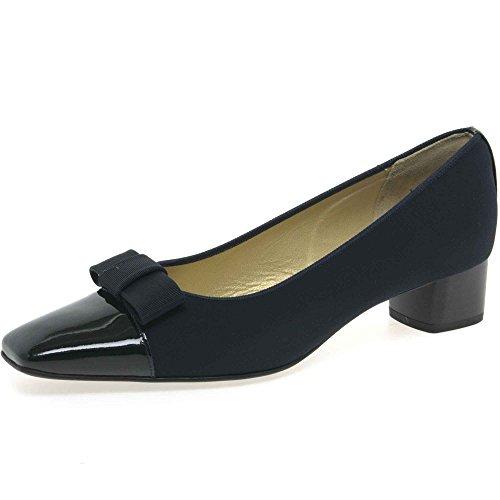 De Tessuto Blu Para Marino Peter Kaiser brevetto Zapatos Vestir Mujer ExWvwqCn