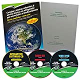 Qwik608TM Epa 608 Spanish Study Kit Reference Manual, Cd, Dvd, Study Guide