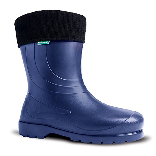 demar. Women's Boots Dark Blue jIRY1