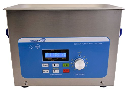 SharperTek XPS240-4L Heated Ultrasonic Jewelry Cleaner, 1...