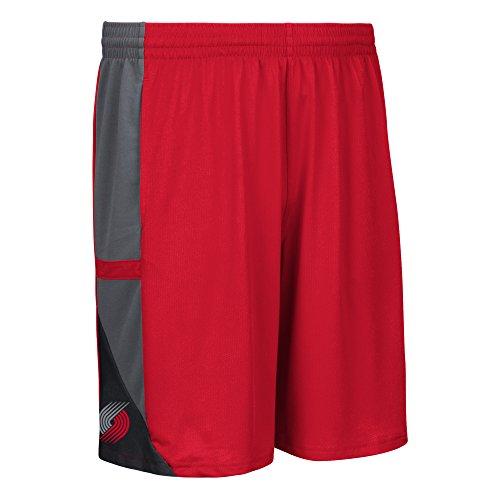 NBA Portland Trail Blazers Men's Tip-Off Mesh Shorts, Large, Red