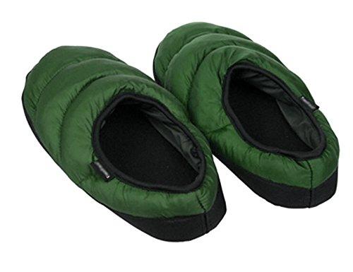 Mwfus Heren & Dames Premium Indoor Huis Winter Katoenen Slipper Groen