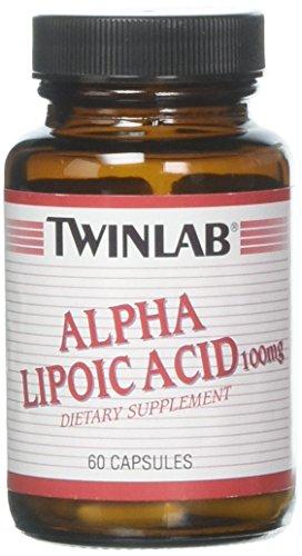 Twin Lab Alpha Lipoic 100 mg Capsules, 60 Count