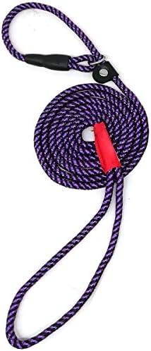 MayPaw Colorful Adjustable Training 5Ft Purple
