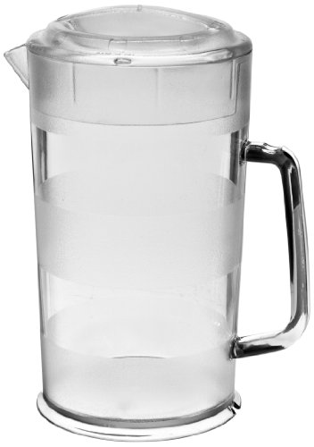 Cambro PC64CW 64 oz Capacity, Camwear Clear Polycarbonate Covered Pitcher (Cambro Pitchers compare prices)