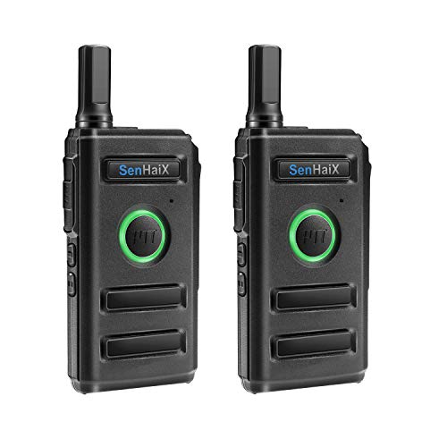 Winkeyes Walkie Talkies, Ultra Thin Business Long Range 2 Way Radio Walkie Talkie for Adults, Great Transmisstion and Receive up to 5Km, 16-Channel, Rechargeable Walky Talky (2 Pack) by Winkeyes