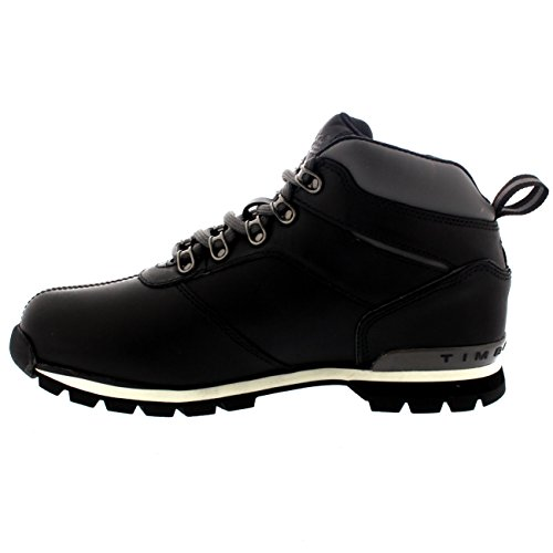 Herren Timberland Splitrock 2 Hiker Winter Schnee Nubuk Stiefeletten Schwarz (Black)