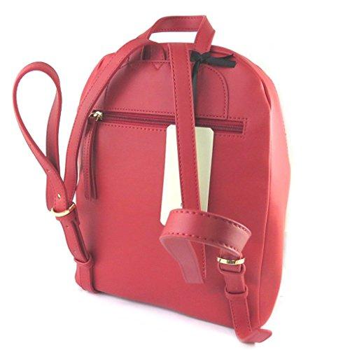 Bolsa de diseñador 'Fiorelli'de color rojo - 32x26x13 cm.