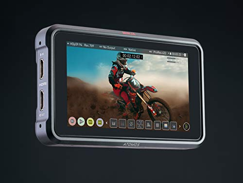 Atomos Ninja V Atomos Ninja V 4Kp60 10bit HDR Daylight Viewable 1000nit Portable Monitor/Recorder ATOMNJAV01 by Atomos (Image #1)