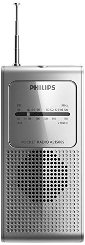 Philips Ae1500s Portable Radio Fm/am Analogue Tuning Ae1500 Silver/Genuine by Philips