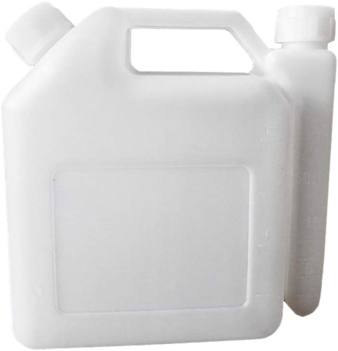 Yanhonin Tanque De Botella De Mezcla De Aceite Combustible De Gasolina De 2 Tiempos De 1.5 litros para Recortadora De Herramientas De Motosierra Piezas 1:25