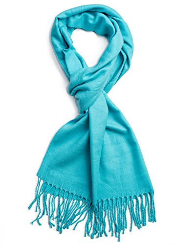 teal blue scarf - 9