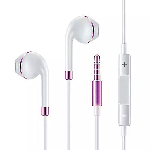 Mayshion Stereo Earphones Built Microphone