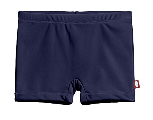 City Threads Little Girls' Swimming Suit Bottom Boy Short, Navy MS, 4