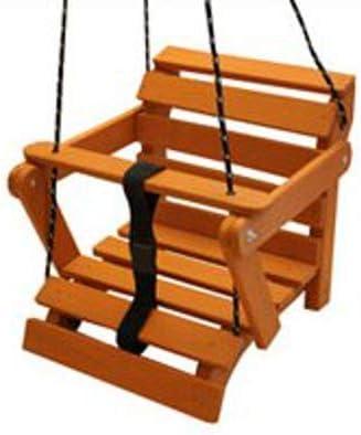 KML columpio balancín Baby grande de madera 5 posiciones. Niños Balancín Madera, hasta 60 kg: Amazon.es: Jardín