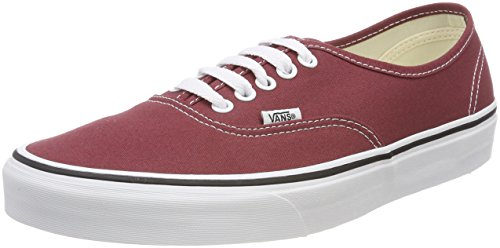 Vans Unisex Adults' Authentic Trainers, Red (Apple Butter/True White Q9s), 9.5 UK 44 EU (Apple Red True)
