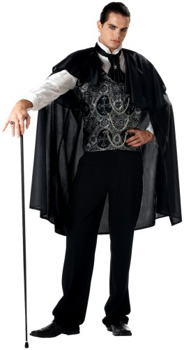 California Costumes Men's Adult-Victorian Vampire, Black, L (42-44) Costume