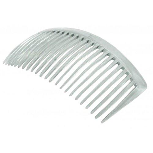 Barrette à Cheveux / Peigne Transparent Grande Taille 90mm X2